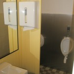 Die Toiletten sind fertig!!
